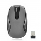 G-167 Wireless 2.4GHz 1000dpi Optical Mouse - Grau + Schwarz (1 x AAA)