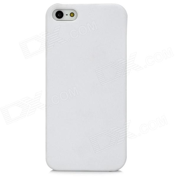 Protective Plastic Back Case for Iphone 5 - White viruses cell transformation and cancer 5
