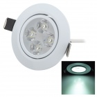 4W 420lm 6500K White Ceiling Light (110~240)