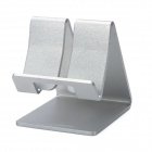 SAMDI Aluminum Alloy Desktop Mount Holder for iPhone 5 - Silver