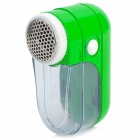 988 Mini Cloth Shaver Fuzz Pill Lint Remover - Green (2 x AA)