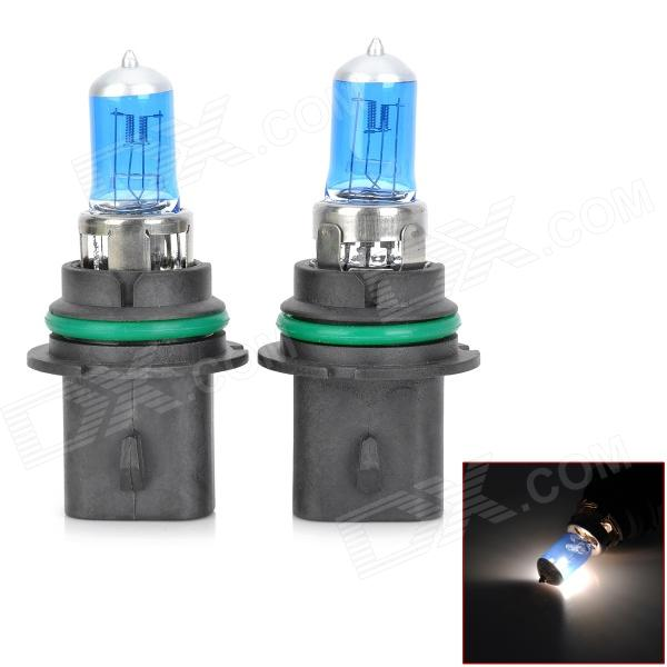 SENCART 9007 100W 6000K 1782lm White Halogen Headlamps for Car / Motorcycle (2PCS / 12V)