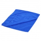 Microfiber Car Cleaning Towel Cloth - Blue