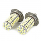 SENCART H7 5.5W 96-3528 SMD LED White Light Car Foglight (12~24V / 2 PCS)