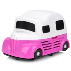 CVC-168 Ice Cream Truck Style Mini Vacuum Cleaner - White + Rose Red (2 x AA)