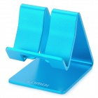 SAMDI Aluminum Alloy Desk Table Stand Holder Support for Iphone 5 - Blue