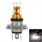 H4 9.5W 450lm 1-Cree XP-E Q5 + 3-SMD LED White Light Car Lamp (12~24V)