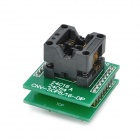 OTS-16-03 CNV-SOP8 to 16-DIP IC Burn-in Socket / Programmer Adapter - Green + Black