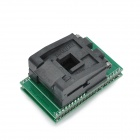 IC 51-444-400 / PLCC44 IC Test / Burn-in Socket / Programmer Adapter - Green + Black