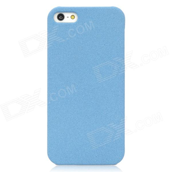 Quicksand Style Protective Plastic Hard Back Case for Iphone 5 - Blue защитный чехол pacha sunrise cherries hard case для iphone 5