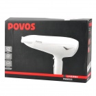 POVOS PH9052I 2200W 3-Mode Aquaion Hair Dryer - White (220V / 2-Flat-Pin Plug / 160cm-Cable)