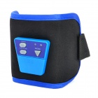 RMK-514 Thinning Vibration Fat-Burning Massager Waistband - Black + Blue (2 x CR2032)