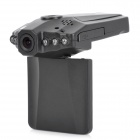 "KVD F198B 2.5"" TFT 1.3M 720P Wide Angle Car DVR Camcorder w/ 6-IR Night Vision - Black"
