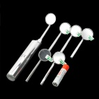 BD-18D Clear View LED Professional Odontoscope + Refill Mirrors - Silver