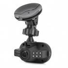 "KVD C600 Mini 1.5"" TFT 5.0MP Wide Angle Car DVR Camcorder w/ 12-LED IR Night Vision - Black"