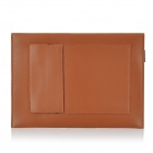 "Envelope Style Protective PU Leather Pouch Case for All 7"" Tablet PCs - Brown"