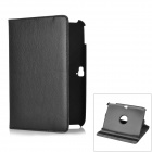 Protective Swivel 360 Degree Rotating PU Leather Case for Google Nexus 10 - Black