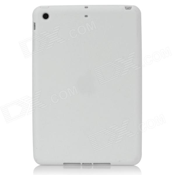 Protective Silicone Back Case for Ipad MINI - White