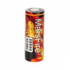 "MarsFire Rechargeable 3.7V ""5000mAh"" 26650 Li-ion Battery - Black + Red"