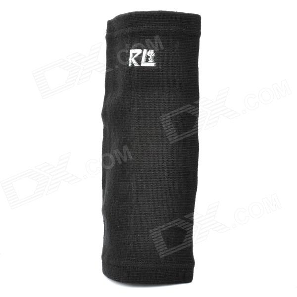 Sports Protection Elastic Cotton Elbow Support - Black