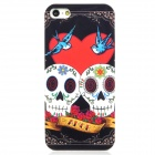 Airwalks Skull Loving Pattern Protective PC Back Case for iPhone 5 - Multicolored