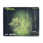Professional Rubber Game Mouse Pad - Green + Black