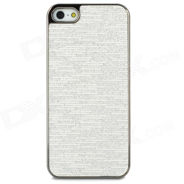 Protective PC Plastic Case for Iphone 5 - White viruses cell transformation and cancer 5