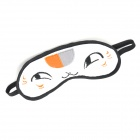 Cute Cat Style Eyes Lint Sleeping Eyeshade - White + Black