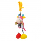 Lokyee 02154 Donkey Style Vibration Bell Tail-Pulling Toy - Multi-Color