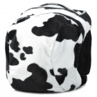 Cute Cow Style Anti-Lost Backpack Bag w/ Strap for Kids - Black + White