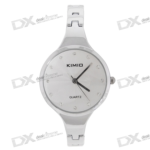 Kimio Stainless Steel Crystal Quartz Wrist Watch педикюрный набор polaris psr 5004r розовый