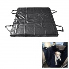 SXH-CWd Car Rear Double Seat Protective Pad / Cushion for People / Pet - Black