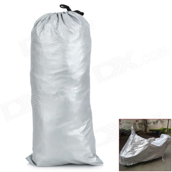 Motorcycle Sunscreen / Dust-proof / Rain-Proof Cover - Silver
