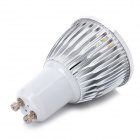 GU10 5W 450lm 3500K Warm White 5-LED Light Bulb - Silver (85~245V)