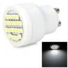 GU10 2W 96lm 24-SMD 3528 LED White Light Bulb - White (85-265V)