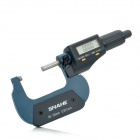 Shahe Aluminum Alloy Precision Digital Micrometer - Grey + Deep Blue (0.001mm Resolution / 25~50mm)