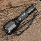 Smiling Shark SS-C10 Cree XR-E Q5 150~200lm 5-Mode White Flashlight - Black (1 x 18650)