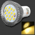 GU10 7.5W 720lm 3500K 15-5630 LED Warm White Light Spotlight (AC 85~265V)