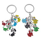 5-Puppy Dangling Keychain (2-Pack)
