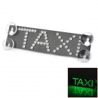 TAXI 12W 120lm 48-LED Green Light dritte Bremsleuchte (12V)