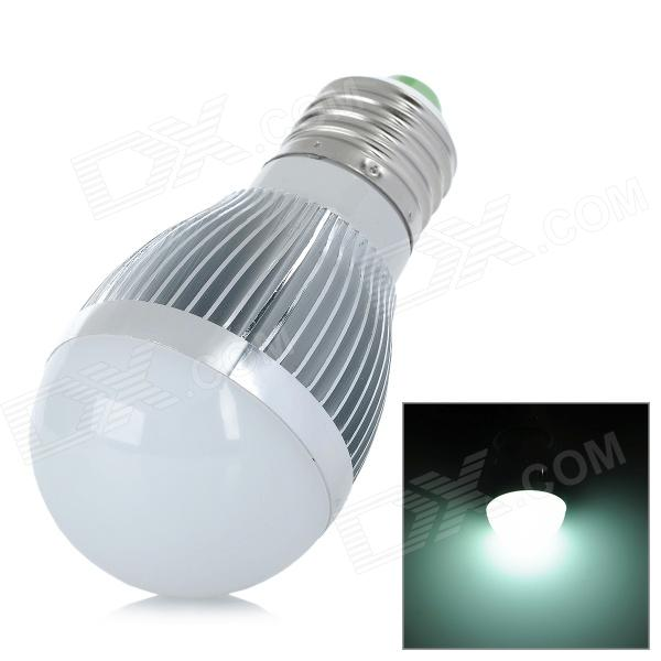 E27 5W 500lm 6500K 10-5630 SMD LED White Light Bulb Lamp (AC 85~245V)