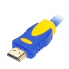 HDMI Male to Male Connection Cable - Blue + Yellow (3m)