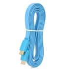 RH-Z1185B 1080P HDMI 1.4 Male to Male Connection Flat Cable - Light Blue (180cm)