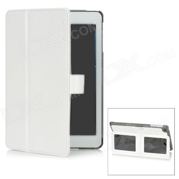ENKAY ENK-3302 Protective PU Leather Cover Case for Ipad MINI - White