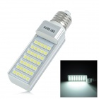 E27 7W 600lm 6300K 35-5050 SMD LED White Light Bulb Lamp (AC 85~265V)