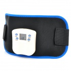 Electronic Body Building Massager Belt - Black + Blue