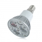 E14 3W 196lm 3000K 3-LED Warm White Spotlight (AC 85~265V)