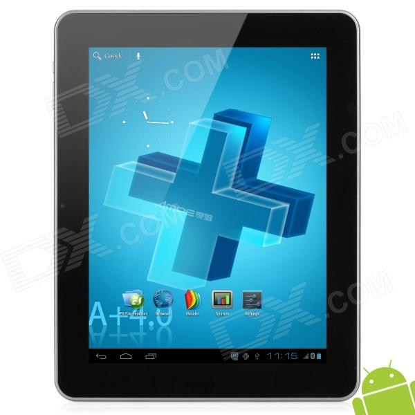 Ampe A90 9.7'' IPS Capacitive Screen Android 4.0 Dual Core Tablet PC w/ Wi-Fi / Bluetooth - Black