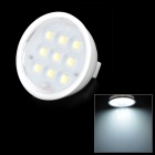 GU5.3 3W 200lm 6500K 9-SMD 2835 LED White Light Lamp (12V)