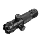 8807 Green Laser Rifle Scope w/ Clip + + Switch + Transmitter - Black